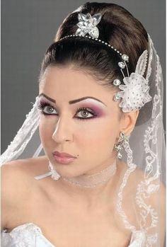 Coiffure de mariée oriental