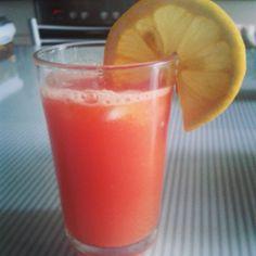 Licuado de sandia, zanahoria y limón