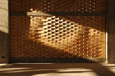 Parametric Brick Facade - so cool!