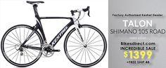 Kestrel Talon Aero Road Carbon Bikes with Shimano 105