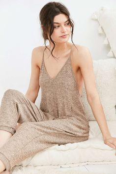Out From Under Coolin It Jumpsuit - Urban Outfitters