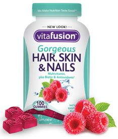 I have always been forgetful about taking a vitamin everyday but these have me hooked. They taste great and have my hair, skin and nails looking great! I love #vitafusion & #smiley360 for letting me review this great product for free and these opinion are 100% my own!