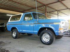 Ford : Bronco 1978 Ford bronco ranger
