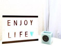 DIY: Lightbox Lightbox, Diy, Home Decor, Decoration Home, Bricolage, Room Decor, Do It Yourself, Home Interior Design, Homemade