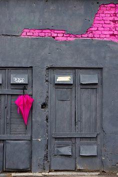 pink fluo+grey