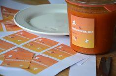 Gratis etiketten voor jampotten weckpotten flessen