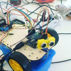 Its alive! #fablabt #tubaza #fablab #lasercut #3dprinting #trotec #gdynia #coding #robot #arduino #trojmiasto #3d #alive #kolibki by fablabt