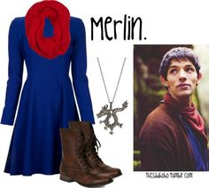 """""""Merlin inspired fashion!"""" by erfquake on Polyvore"""