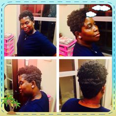Relaxer/ Haircut/ Style