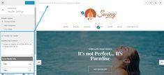 Swing Header Settings
