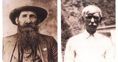 """William """"Devil Anse"""" Anderson Hatfield and Randle McCoy"""