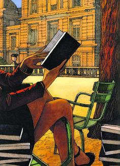 Une monographie réunit 200illustrations, réalisées pour la presse ou l'édition, du plus français des dessinateurs américains.