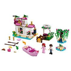 Disney Ariel's Magical Kiss Playset by Lego | Disney StoreAriel's Magical Kiss Playset by Lego - She can join Ariel as she seeks to break a magic spell! She'll enjoy fairytale moments including taking a romantic boat ride with the Little Mermaid and her true love where they meet a frog and stop at the tree in the secluded lagoon.