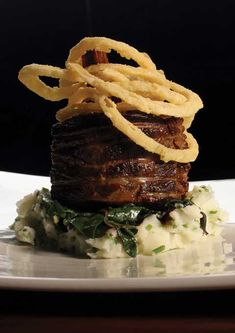 braised short ribs with sauteed collard greens with ham hocks amp caramelized onions plating