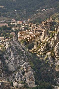 castelmezzano, province of Potenza , basilicata region Italy