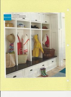 mudroom storage - Google Search
