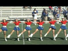 Kilgore College Rangerette High Kick 2011