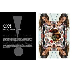 Q!61: moda donna e fiori