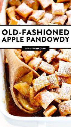 Best Apple Recipes, Fruit Recipes, Fall Recipes, Sweet Recipes, Dessert Recipes, Cooking Recipes, Favorite Recipes, Just Desserts, Recipes