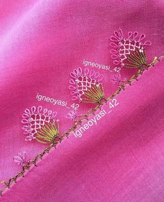 Border Embroidery, Knitted Baby Clothes, Bobbin Lace, Baby Knitting, Crochet, Tatting, Elsa, Needlework, Instagram