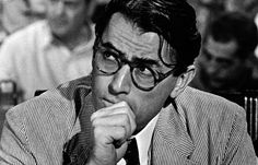 One of the best literary dads, Atticus Finch.