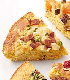 Zesty pepper Jack cheese and salty, savory bacon give basic boxed cornbread some serious flavor.