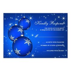 51 Best Christmas And Holiday Party RSVP Cards Images