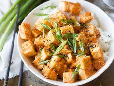 Sesame Sriracha Tofu