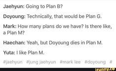 that should be ty not yuta lol Nct Life, Funny Kpop Memes, Fandoms, Taeyong, Kpop Groups, Jaehyun, Nct Dream, Nct 127, Texts