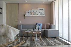 1 El diseño de un apartamento con una paleta neutra y muy chic Decohunter