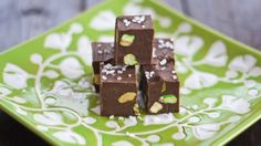 Nutella Fudge with Pistachios and Sea Salt – Best Friends For Frosting