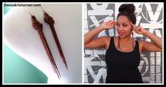DIY Tassel Knot Chain Earrings Tutorial