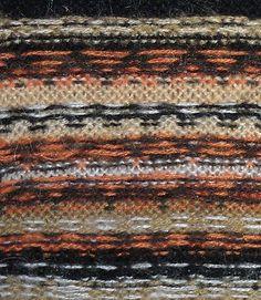 Как вязать орнамент нитями различных цветов (Жаккардовое вязание и интарсия)