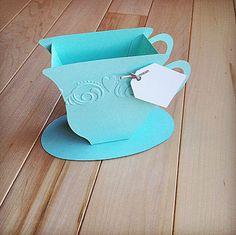 tea cup favor boxes | - Tea Favor Boxes, Wedding or Bridal Shower, Alice in Wonderland Tea ...