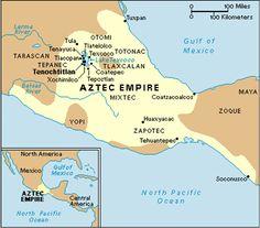 Political boundaries - Five major cities of the Aztec Empire were Tenochtitlan, Tuxpan, Huaxyacac, Tehuantepec, and Coatzoalcos. Triple Alliance, Aztec Empire, South America Map, Buried Treasure, Pirate Treasure, Treasure Maps, Ancient Aztecs, Geography Map, Aztec Art