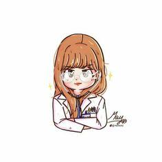 Lisa be doctor Cute Drawings, Drawing Sketches, Blackpink Poster, Korean Anime, Pop Stickers, Blackpink Video, Black Pink Kpop, Digital Art Girl, Fan Art