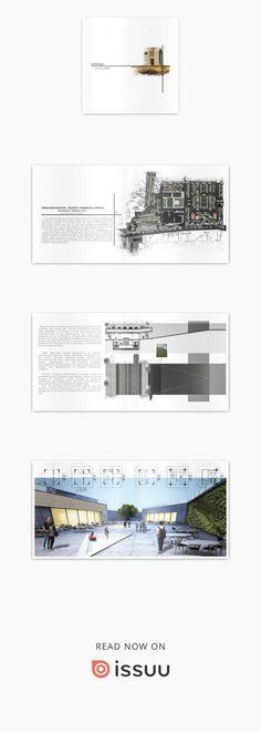 Architecture portfolio #architectureportfolio
