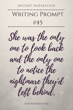 What did they leave behind? Where are they going? If you like this writing prompt, check out the others on my board!