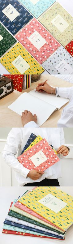 A cute patterned notebook always makes taking notes and writing way more fun!