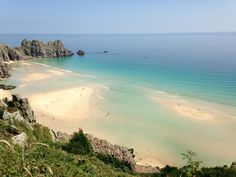 The WonderFul Pednvounder beach near Treen in Cornwall