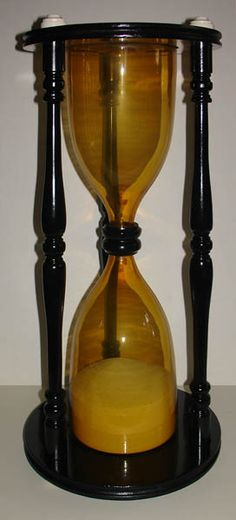 Antique Scientific Instruments - Huge Sandglass (Hourglass)