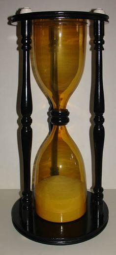 Antique Scientific Instruments - Huge Sandglass (Hourglass)