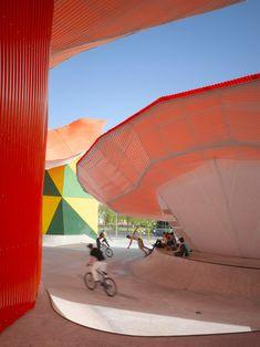 Merida Factory Youth Movement by SelgasCano 04 « Landscape Architecture Works   Landezine