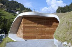 Hydroelectric Power Station Punibach / monovolume architecture + design