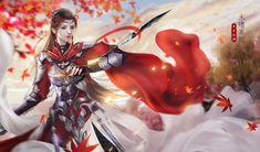 Fantasy Characters, Fictional Characters, China Art, Fantasy Artwork, Art Drawings, Wonder Woman, Costumes, Superhero, Manga