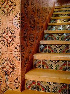 I love the steps. I mean, mi encanta :)