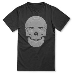 Skull - Nathan Sawaya Limited Edition Tee to raise funds for the Art Revolution