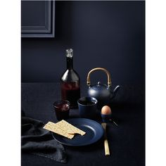 New Black Fluted and Blue Fluted by Royal Copenhagen_1