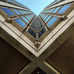 Appreciate architecture more by using different angles on your shots.