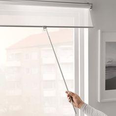 SKOGSKLÖVER Rollo - weiß - IKEA Deutschland Blinds For French Doors, Blinds For Windows, Window Blinds, Ceiling Materials, Raw Materials, Kallax, Ikea Family, Support Mural, Roll Ups